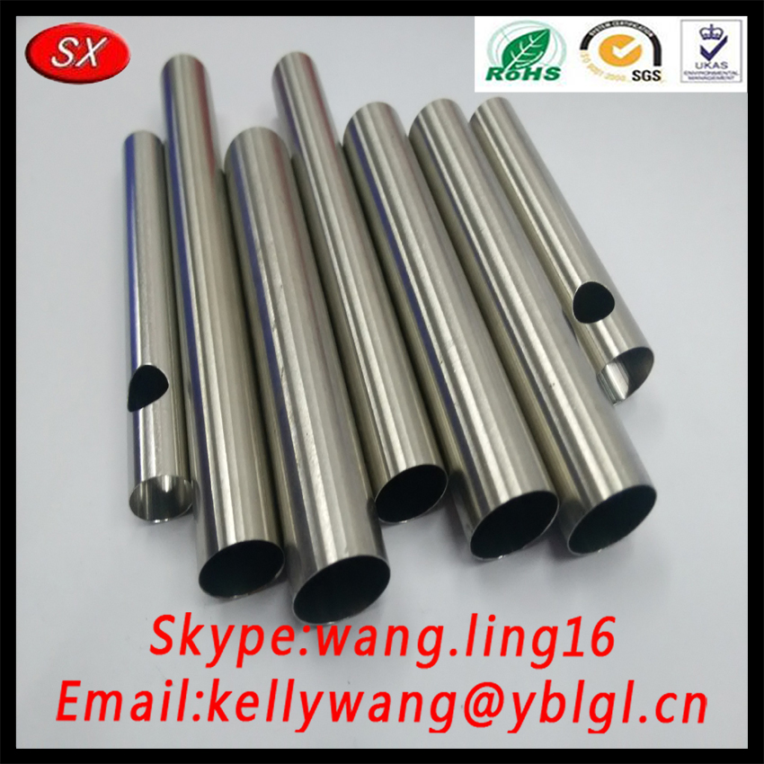Dongguan Factory Bulk Custom Stainless Steel 316 Round Steel Tube For E Cigaratte