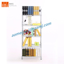 Multi-purpose Home Kitchen steel folded wire metal shelf