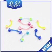 hot wholesale colored eyebrow piercing jewelry