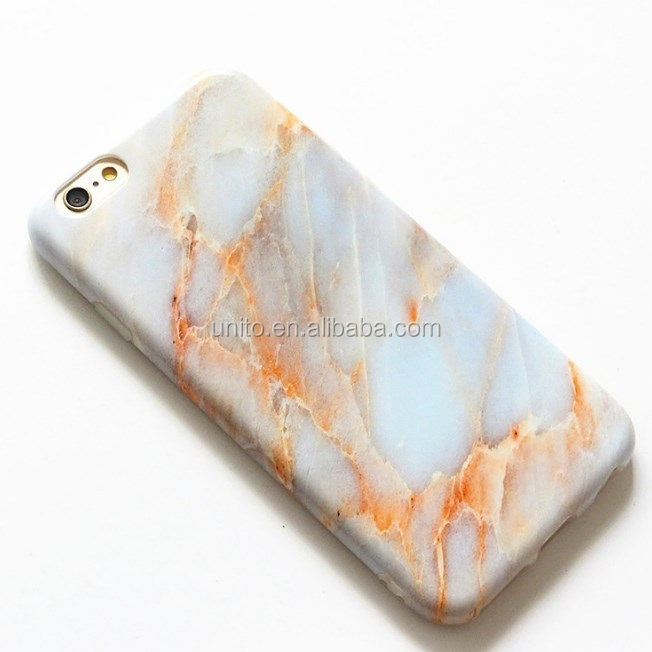 Customize Stylish Cool Granite Marble Stone Effect Soft Case Cover For iPhone 7 7 Plus 6 6 Plus