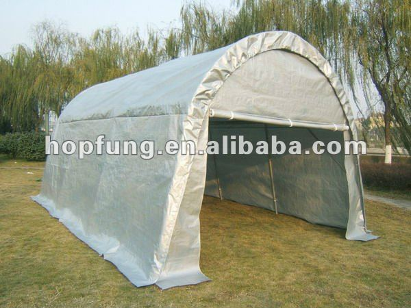 Heavy Duty PE Carport with sidewalls high quality
