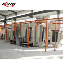 Professional Powder Coating Paint Factory Production Line