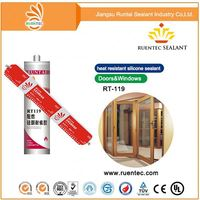Cabinets/Elastomeric Sealant with The Permanent Adhesion/Flexiblity And Lifetime Durability Silicone Sealant