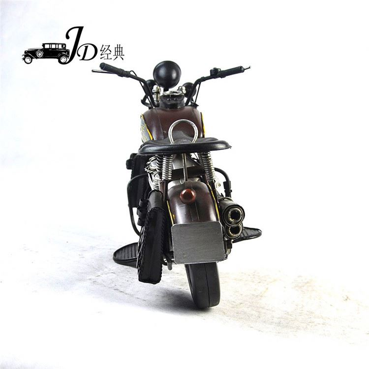 HOT SALE OEM quality antique metal motorcycle model for wholesale