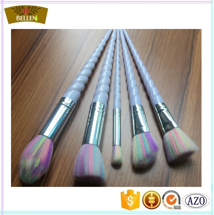 Shenzhen Manufacturer Color makeup brush set in nylon hair china wholesale