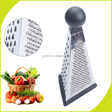 kitchen equipment stainless steel three Side Cheese Box Grater and zester