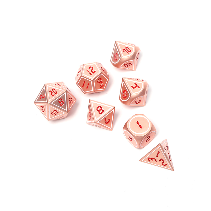 Chengshuo rpg metal dice dnd polyhedral dungeons and dragons tabletop game digital dices dados 7pcs zinc alloy <strong>d10</strong> 12 20 8