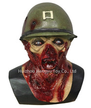 OEM Manufacturer Design Acceptable Customized Zombie Monster Scary Latex Custom Halloween Mask