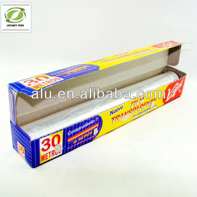 Super Quality 300mm * 30 meters food grade aluminium tin foil for household food wrapping and packaging