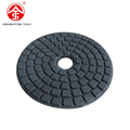 Diamond soft Marble buffing flexible wet polishing pad