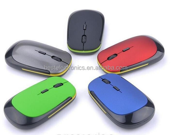 3500 Slim 2.4GHz Wireless Optical Mouse Cordless Mice USB 2.0 Receiver mouse For Laptop PC