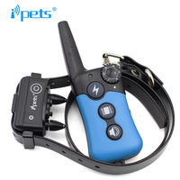 Ipets PET619-1 Hot Selling 300M Waterproof Receiver Rechargeable Dog Shock Collar
