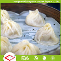 OEM Silicone Coated Dim Sum Paper for Steamer Use