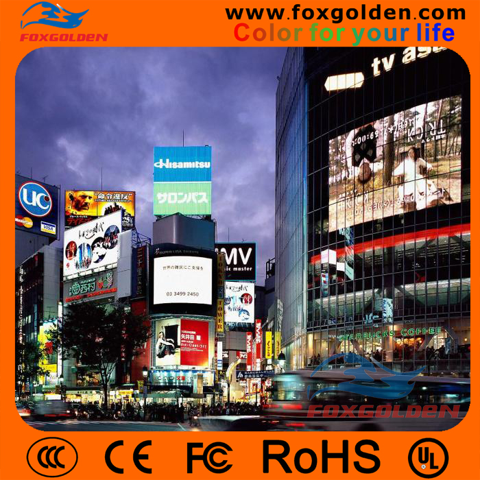 Hot sale product outdoor advertising P10 Full color LED display panel