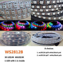 IC led strip light dream color 5050 rgb ws2812b 144 led pixel strip