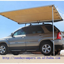 Folding car shelter for Camping