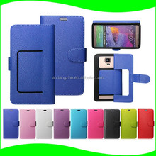 ali trade 5 sizes universal leather silicone phone case cover for cubot x16s wallet housing,waterproof back cover for htc 850