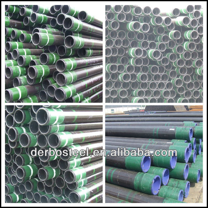 High Quality manufacturer seamless casing pipe with coupling and thread protector