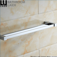 Unique design wholesale bathroom accessories Zinc alloyl single towel bar