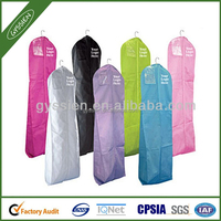 Cheap custom printed wedding dress garment bag wholesale