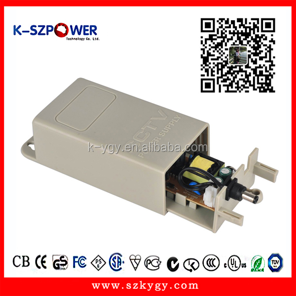 Mean Well 12W 1A Medical Power Adapter 12V