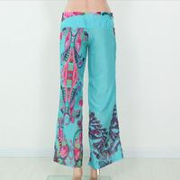 New Design Printing Patterns Cotton Yoga Wear Ladies Trousers Made In China