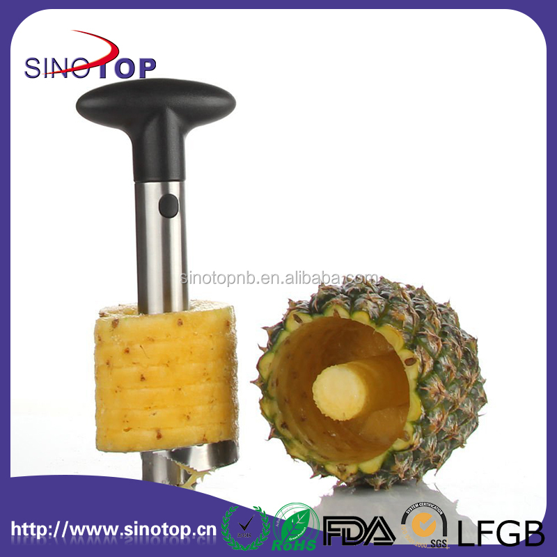 Stainless Steel Fruit Pineapple Corer Slicer Cutter Peeler, Multi-Purpose Premium Quality Stainless Steel, Smart Kitchen Gadget
