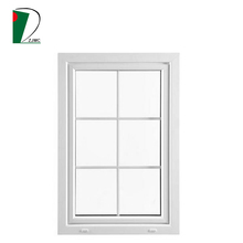 American Style Upvc Vinyl Single Double Hung Windows