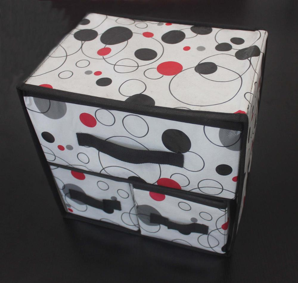 Multifunction non woven storage boxes