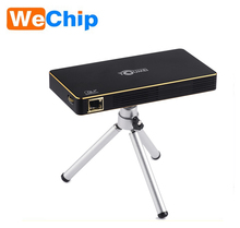 Luckyclover Best Home Theater HDMI USB SD Portable HD 1280x800 3D Cinema 1080p LED Mini DLP Projector