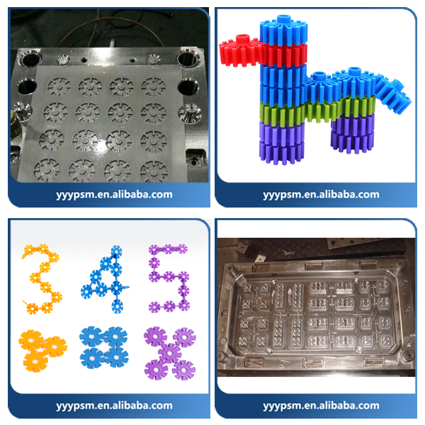 New product design building blocks injection mould/Injection Plastic Mould