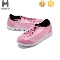 fashion and comfortable pink running shoes for women, women sports shoes