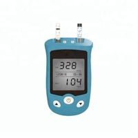 Blood Glucose & Uric Acid Monitoring System Blood Glucose test meter Price/Blood Testing Equipments