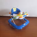 Rubble stopper baby walker EN base walker with lovely toys with music
