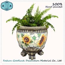 New Arrivals Colorful Home Goods Old Stone Mexican Flower Pots