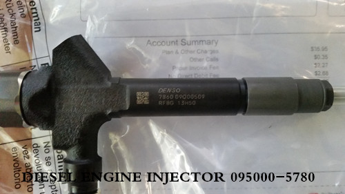 common rail denso injector 095000-5780 , 095000-5780 nozzle injectors diesel of high quality