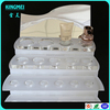 Alibaba modern new product 3 tiers acrylic foundation cosmetic display rack for retail shop