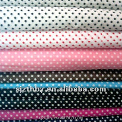 C 20*20 60*60 cheap printing polka dot cotton fabric wholesale