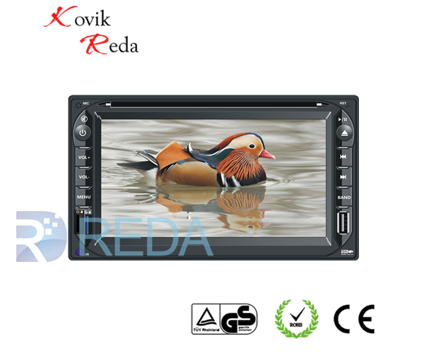 JK6210 6.2 inch For PEUGEOT 2 din Car dvd with GPS Navigation BT Radio AM/FM 3G
