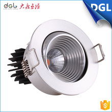 2016 new product home interior decoration surface mounted ceiling dimmable 5w cob led downlight with CE UL certifications