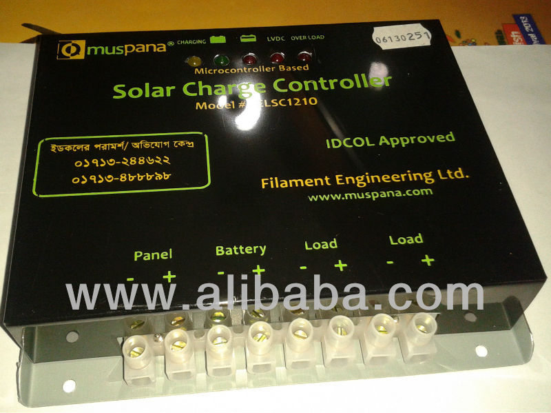 Solar Charge Controllers (PWM)