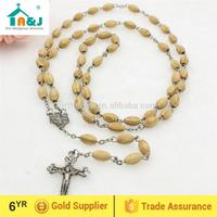Over 6 years Alibaba Gold Supplier saint religious wood rosary Wholesale Christian