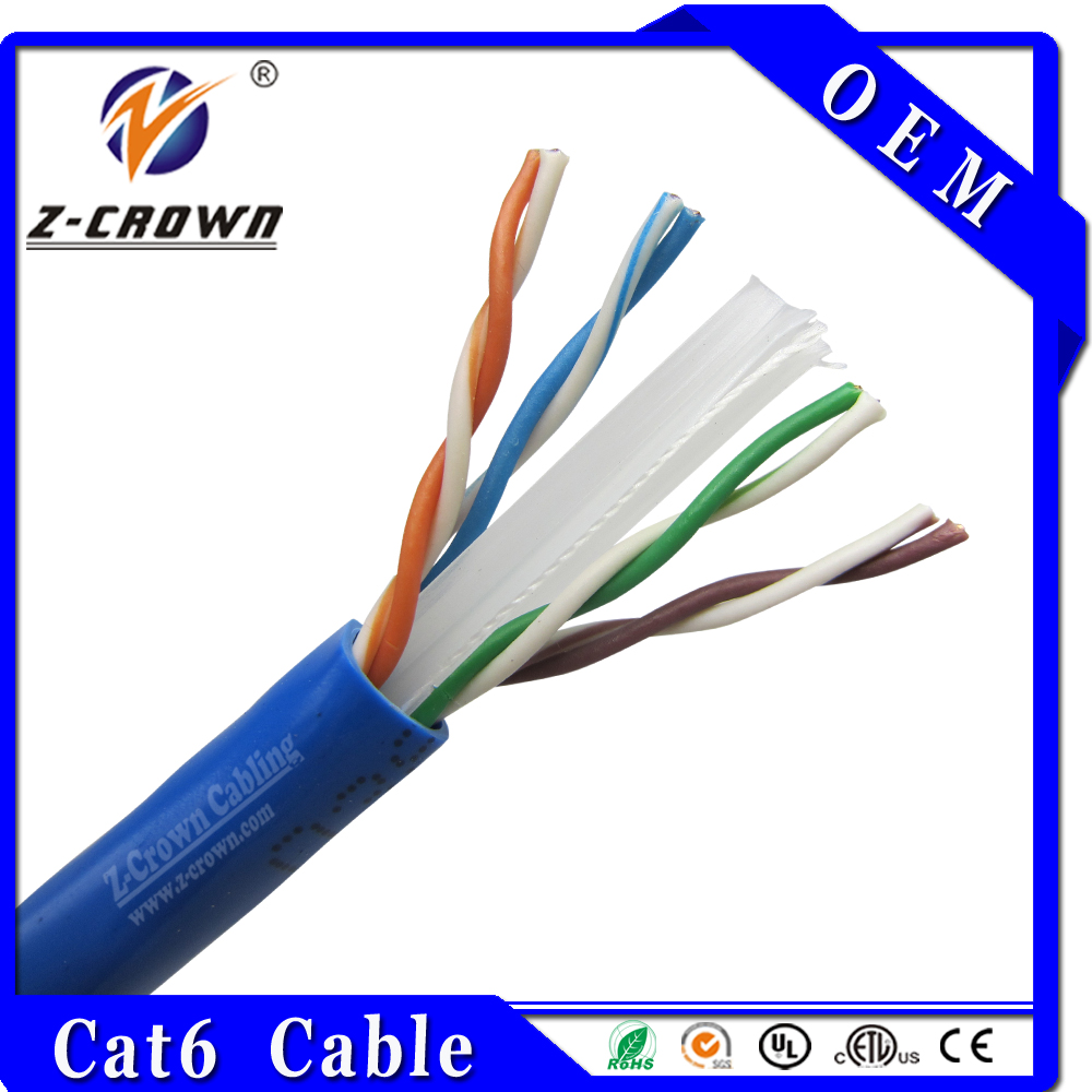 Hot Internet Telecom Cat6 UTP Color Code For Lan Cable