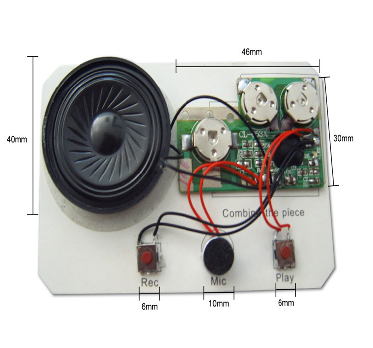 voice recording module/sound module/voice chip