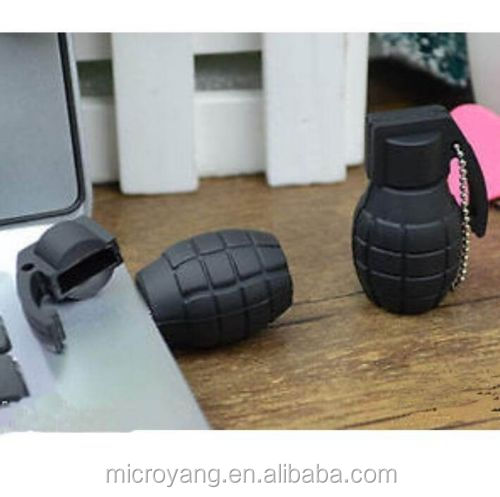 Cute Mini Grenade Black bomb model 8GB USB 2.0 Memory Flash Stick Pen Drive