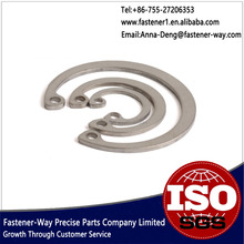 Stainless steel round wire snap ring