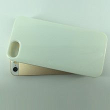 China TPU white protective phone case for iPhone5