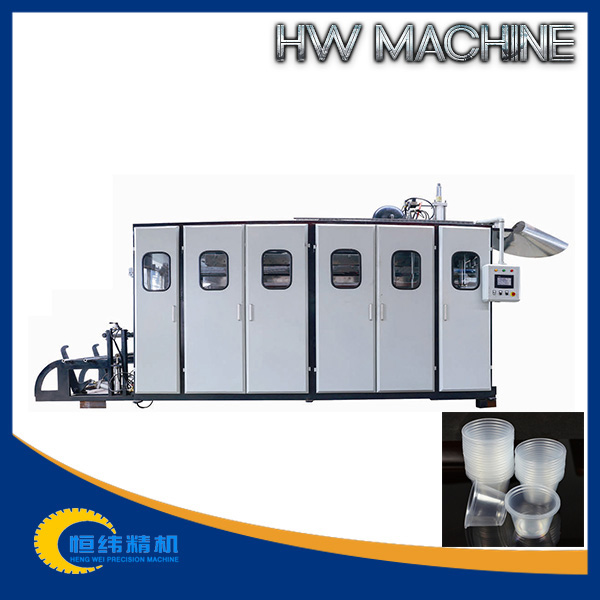 high output new disposable plastic cup making machine manufacturer