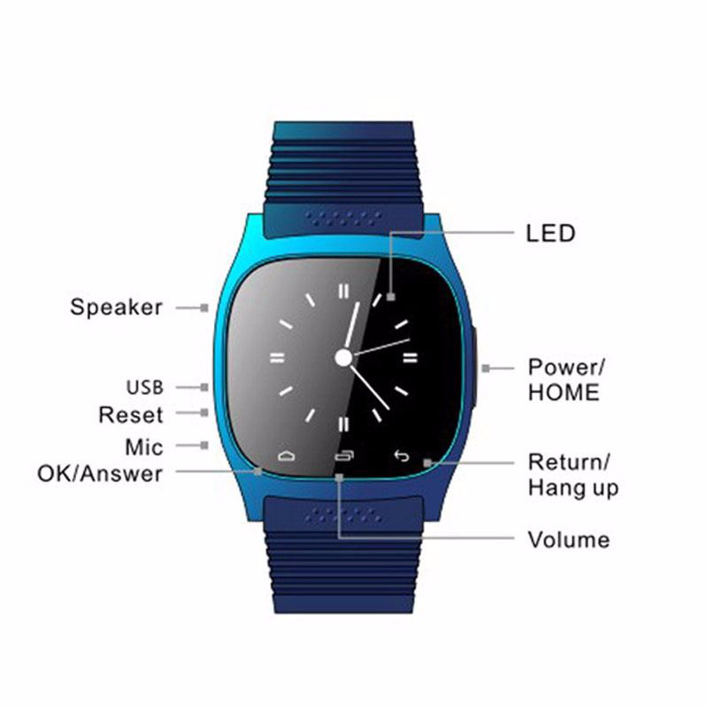 Bluetooth Smart Watch for all the android smart phone a9 smart watch