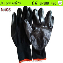 anti-sweat comfortable nitrile work glove en388